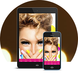 Make Your Own Hair Nail And Beauty Salons App - Beautiful hairstyle salon app